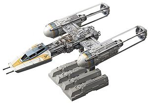 Star Wars 1/72 Scale Model Kit: Y-Wing Starfighter