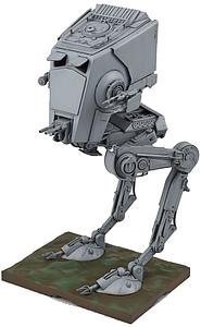 Star Wars 1/48 Scale Model Kit: AT-ST