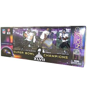 NFL Players: Champions 3-Pack (Baltimore Ravens)