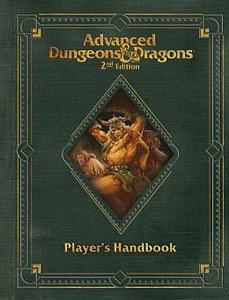 Dungeons & Dragon's Premium 2nd Edition Advanced Player's Handbook (D&D Core Rulebook)