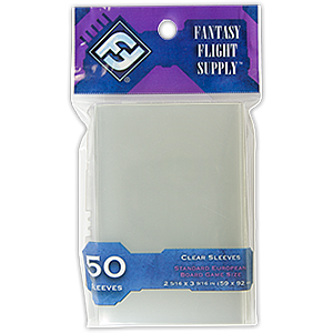 Standard European Card Sleeves (59mm x 92mm)