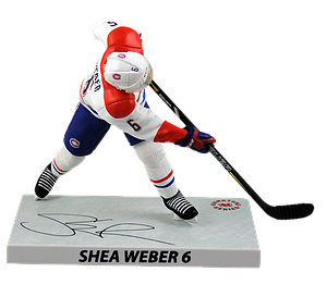 NHL Shea Weber (Montreal Canadiens) 2016-17 Signature Series