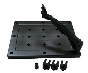 Gundam Action Base 3 1/144 & 1/100 Stand: Black