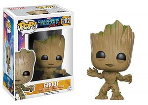 Pop! Marvel Guardians of the Galaxy 2 Vinyl Bobble-Head Groot #202