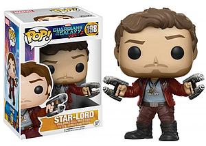 Pop! Marvel Guardians of the Galaxy 2 Vinyl Bobble-Head Star-Lord #198