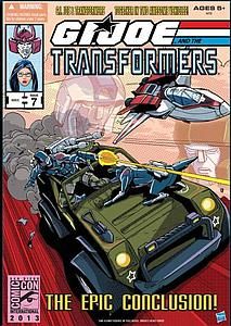 G.I. Joe Transformers Jetfire & Hound SDCC 2013 San Diego Comic Con Exclusive