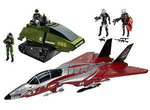 G.I. Joe 50th Anniversary Crimson Strike SDCC 2015 San Diego Comic Con Exclusive