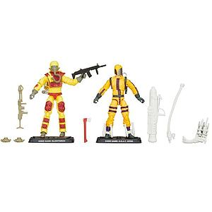 G.I. Joe 50th Anniversary Heated Battle 2-Pack (Blowtorch vs H.E.A.T Viper)