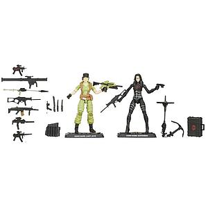 G.I. Joe 50th Anniversary Social Clash 2-Pack (Lady Jaye vs Baroness)