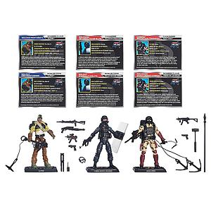 G.I. Joe 50th Anniversary: Rock Rampage 3-Pack Set
