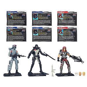 G.I. Joe 50th Anniversary: Vanishing Act 3-Pack Set