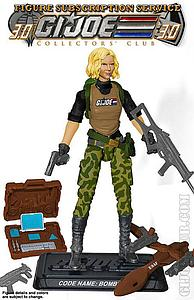 G.I. Joe Forward Air Controller Bombstrike Collector Club Exclusive