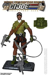 G.I. Joe Mountain Trooper Alpine Collector Club Exclusive
