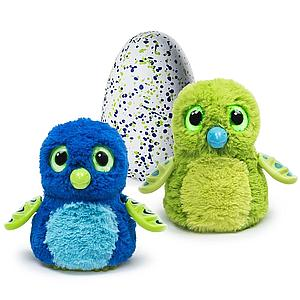 Hatchimals Interactive Creature Draggle Blue/Green Hatching Egg