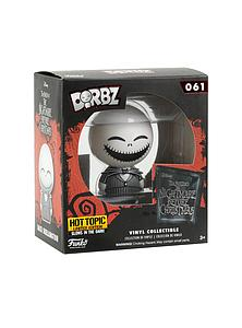 Dorbz The Nightmare Before Christmas: Jack Skellington (Glows in the Dark) #061 Hot Topic Limited Edition