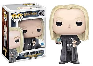 Pop! Harry Potter Vinyl Figure Lucius Malfoy (Holding Prophecy) #40 FYE Exclusive