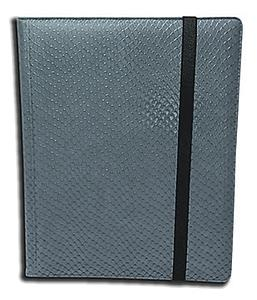 9 Pocket Binder: Grey (Dragon Textured)