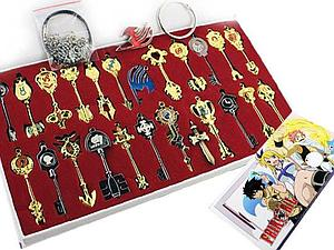 Fairy Tail 25-Piece Celestial Keychain Set