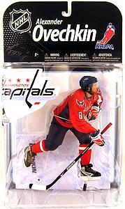 NHL Sportspicks Series 22 Alex Ovechkin (Washington Capitals) Red Jersey Variant (Sub-standard)