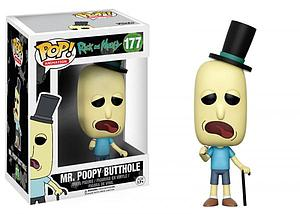Pop! Animation Rick and Morty Vinyl Figure Mr. Poopy Butthole #177
