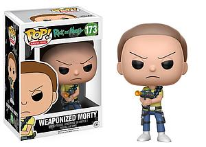Pop! Animation Rick and Morty Vinyl Figure Weaponized Morty #173