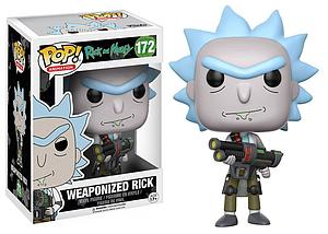 Pop! Animation Rick and Morty Vinyl Figure Weaponized Rick #172