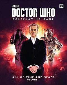 Doctor Who Roleplaying Game: All of Time & Space