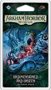 Arkham Horror: The Card Game - Undimensioned & Unseen Mythos Pack
