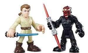 Star Wars Galactic Heroes 2-Pack Obi-Wan Kenobi & Darth Maul Mini Figure