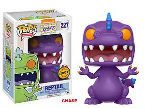 Pop! Animation Rugrats Vinyl Figure Reptar (Purple) #227 (Chase)