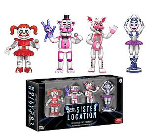 Five Nights at Freddy's 4-Pack Figure Set: Sister Location