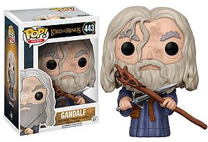 Pop! Movies Lord of the Rings Vinyl Figure Gandalf #443