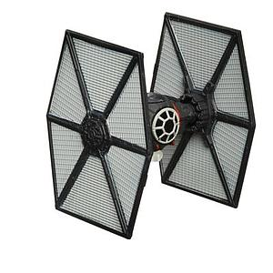 Star Wars Episode VII The Black Series Titanium Series First Order Special Forces Tie Fighter #04