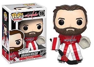 Pop! Hockey NHL Vinyl Figure Braden Holtby #16 (Washington Capitals)