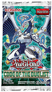 Yugioh Trading Card Game Code of the Duelist: Booster Pack