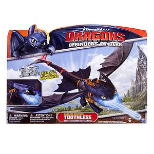 Spin Master Dragons: Defender of Berk: Giant Fire Breath Toothless (Night Fury)