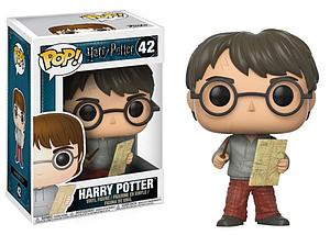 Pop! Harry Potter Vinyl Figure Harry (with Marauder's Map) #42