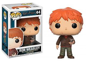 Pop! Harry Potter Vinyl Figure Ron (with Scabbers) #44
