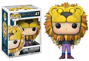 Pop! Harry Potter Vinyl Figure Luna Lovegood (with Lionhead) #47