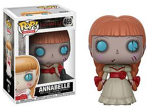 Pop! Movies Annabelle Vinyl Figure Annabelle #469 (Vaulted)