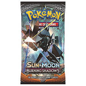 Pokemon Trading Card Game Sun&Moon (SM3) Burning Shadows Booster Pack