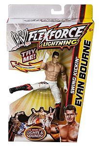 Mattel WWE Flexforce Swing Kickin': Evan Bourne