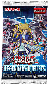 Yugioh Trading Card Game Duelist Pack: Legendary Duelists Booster Pack