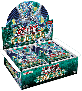 Yugioh Trading Card Game Code of the Duelist: Booster Box