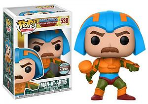 Pop! Television Masters of the Universe Vinyl Figure Man-At-Arms #538 Specialty Series Exclusive