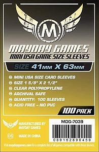Mini USA Card Sleeves (41mm x 63mm)