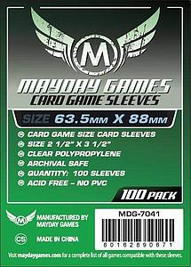 Card Game Standard Sleeves (63.5mm x 88mm)