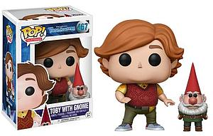 Pop! Television Trollhunters Vinyl Figure Toby with Gnome #467