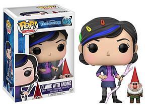 Pop! Television Trollhunters Vinyl Figure Claire with Gnome #468