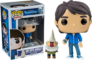 Pop! Television Trollhunters Vinyl Figure Jim with Amulet #472